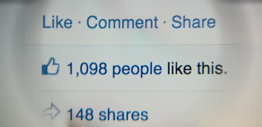 Facebook avaliações